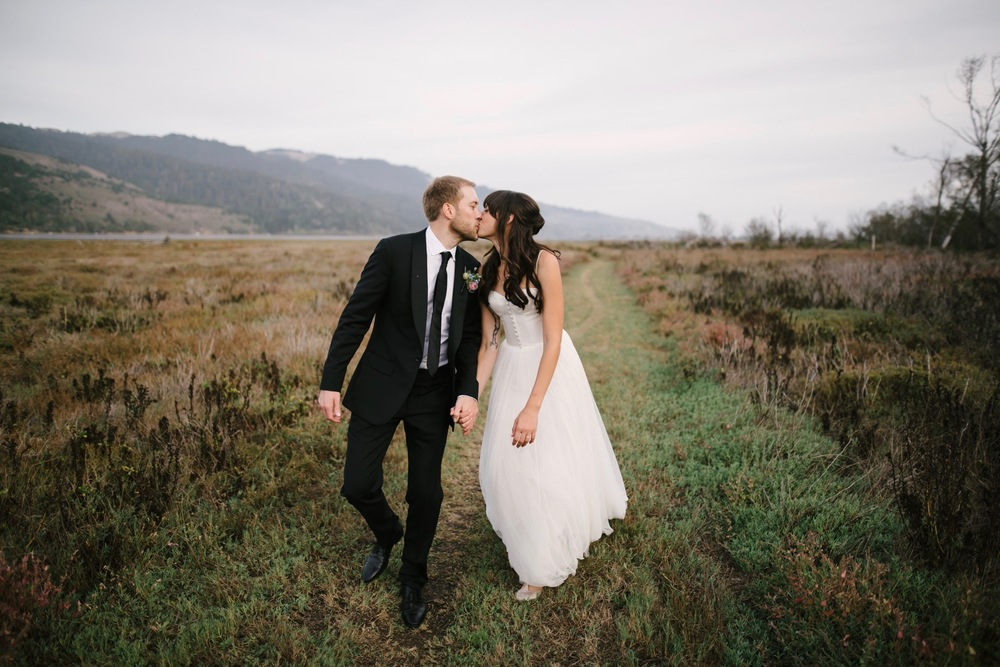 HANNAH + BEN // fall wedding in bolinas