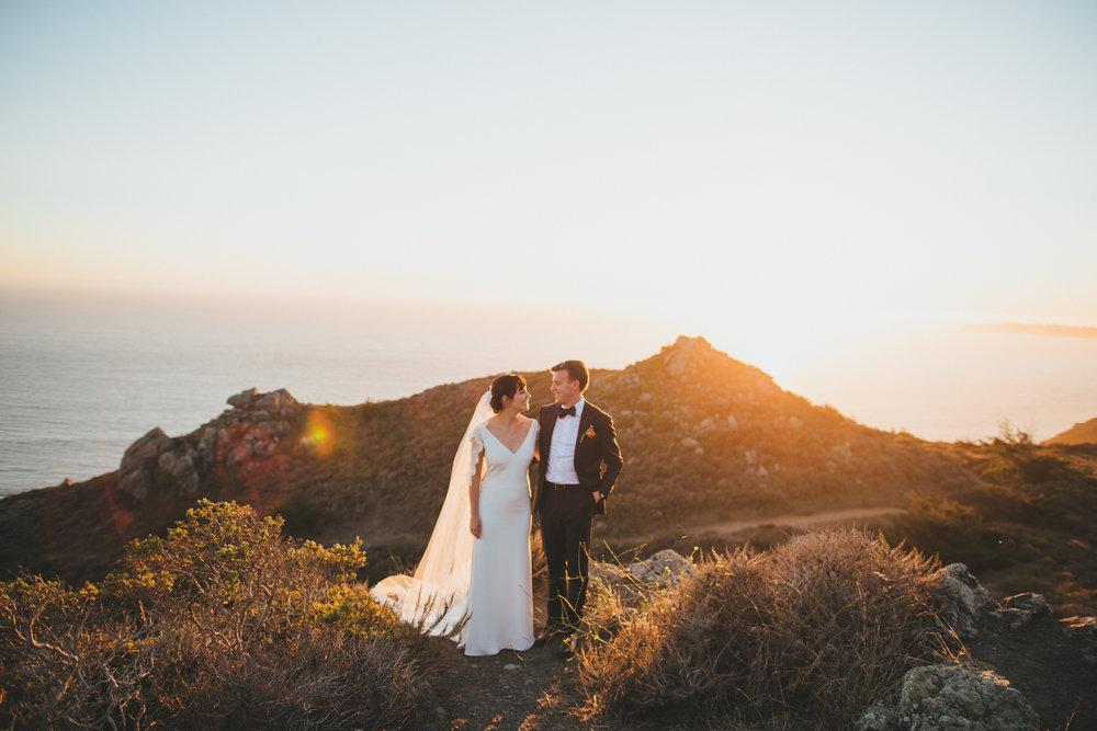 Anna + brian // stinson beach late summer wedding