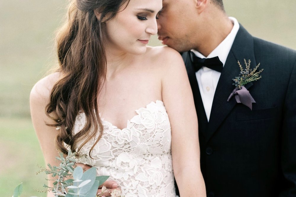 WEDDING INSPIRATION // Elegant jewel tone ranch