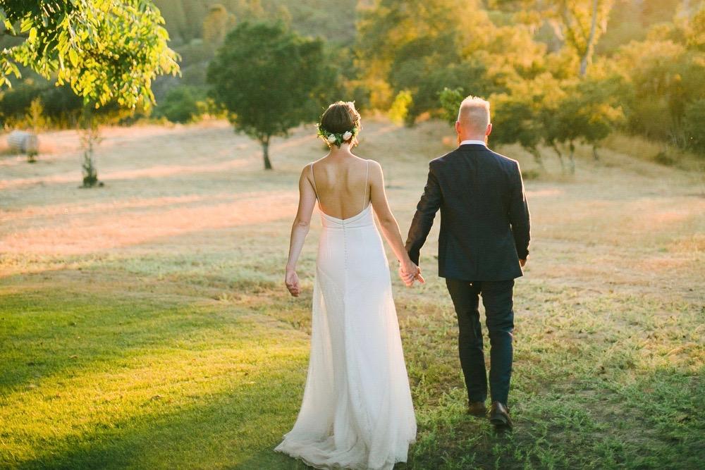 rachel + chris // organic sss ranch wedding in calistoga