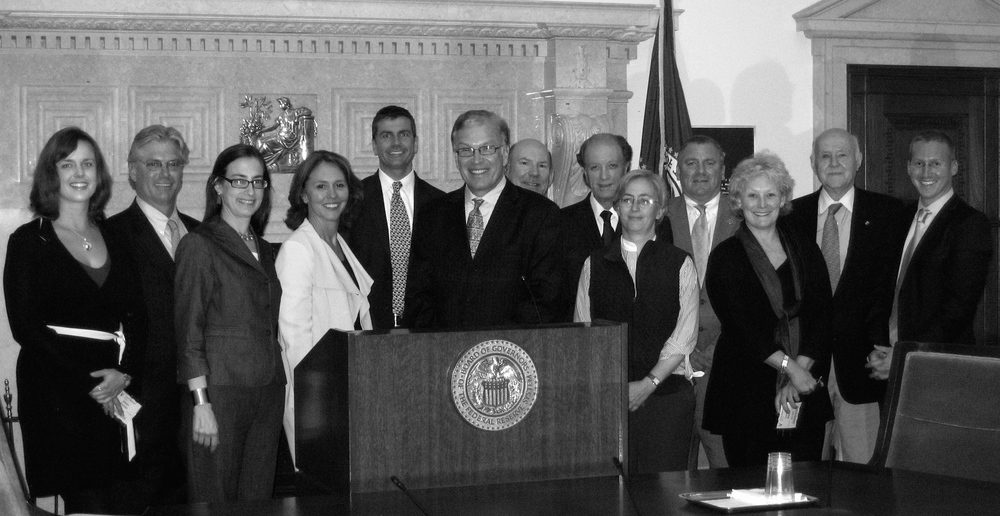 Inaugural meeting of the New Frontiers Advisory Panel in March 2009 at the Federal Reserve Board of Governors.