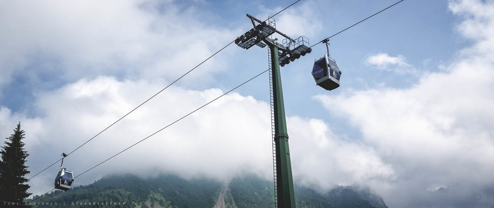 I mean, ski lifts are fine if you're going up, but completely pointless when facing a downhill.