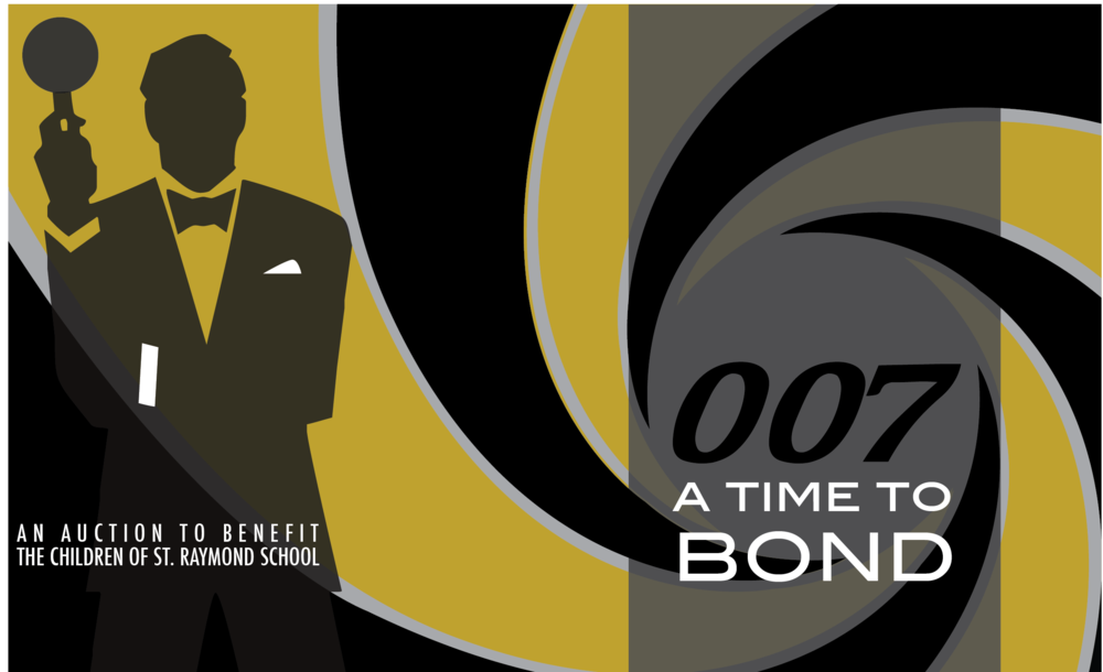 007 James Bond Theme  for an elegant evening of 'bonding' and fundraising for this school community