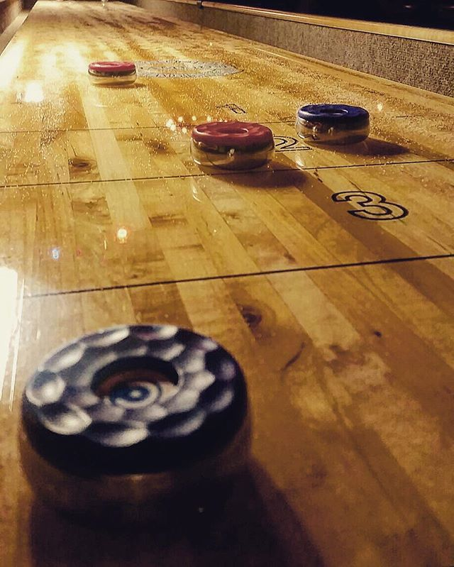 come join us for a game!  #shuffleboard #dankellyspub #dtmpls #beers