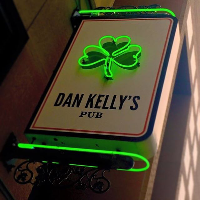 just follow the green light... #stpatricksday #irishpub #dtmpls #dankellyspub #beer #whiskey #irishfood
