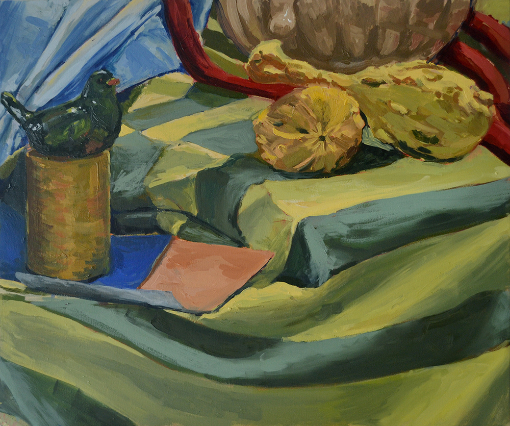 Venetian Color Palette Still-Life