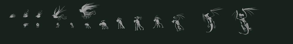 Creature Evolution Concept