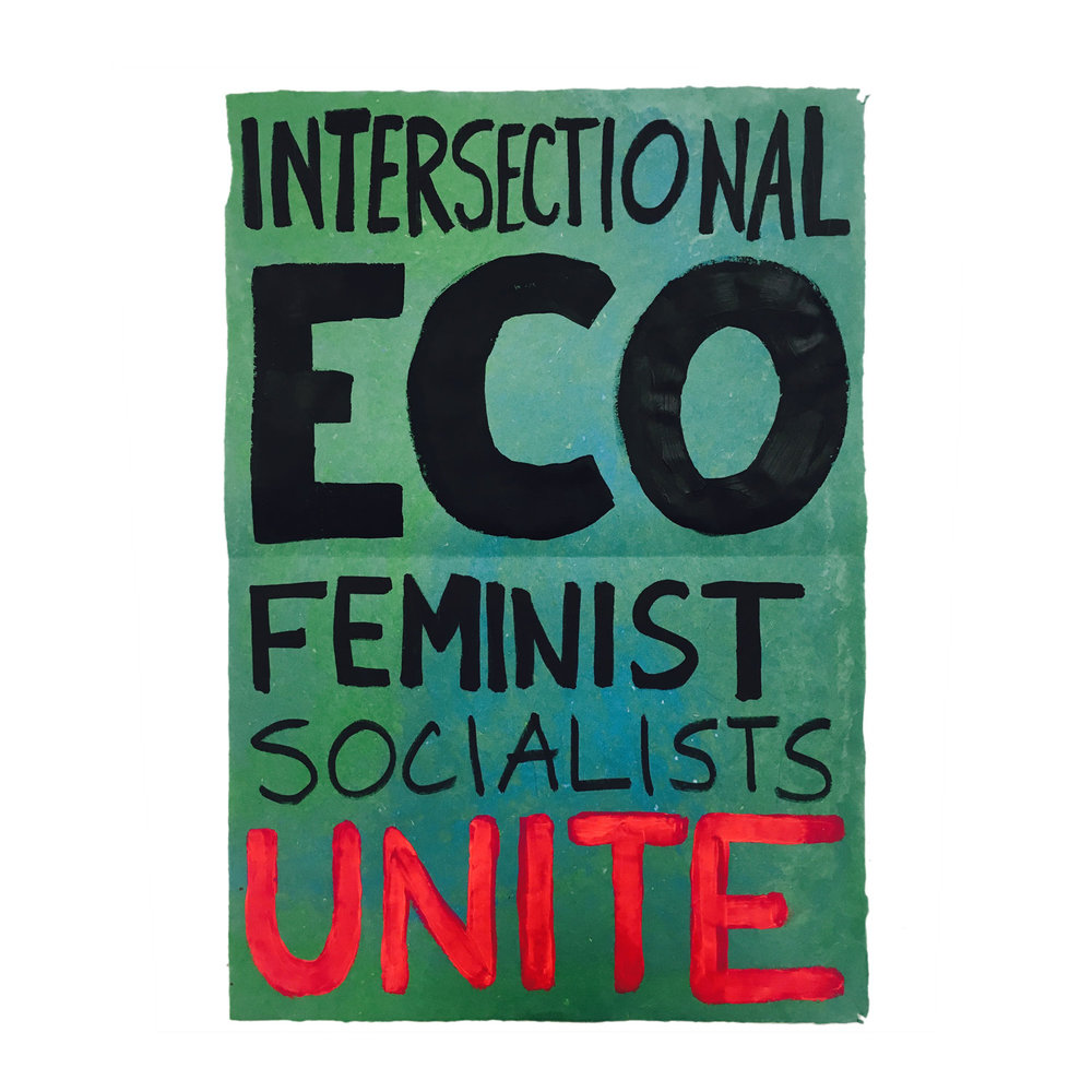 Intersectional Eco-Feminist Socialists Unite