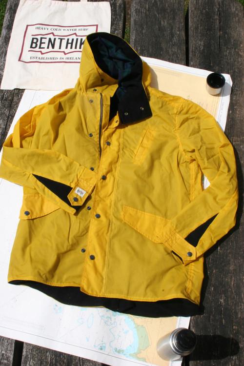 Yellow Explorer Waxed Cotton Coat