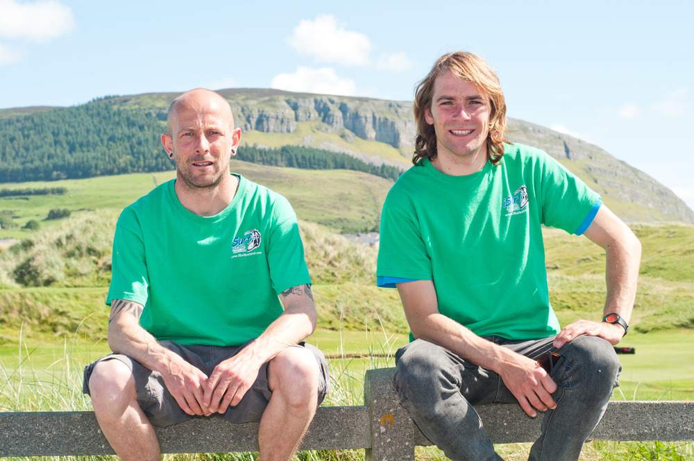 Founders and Lead Instructors Eddie Moran and Seamus McGoldrick
