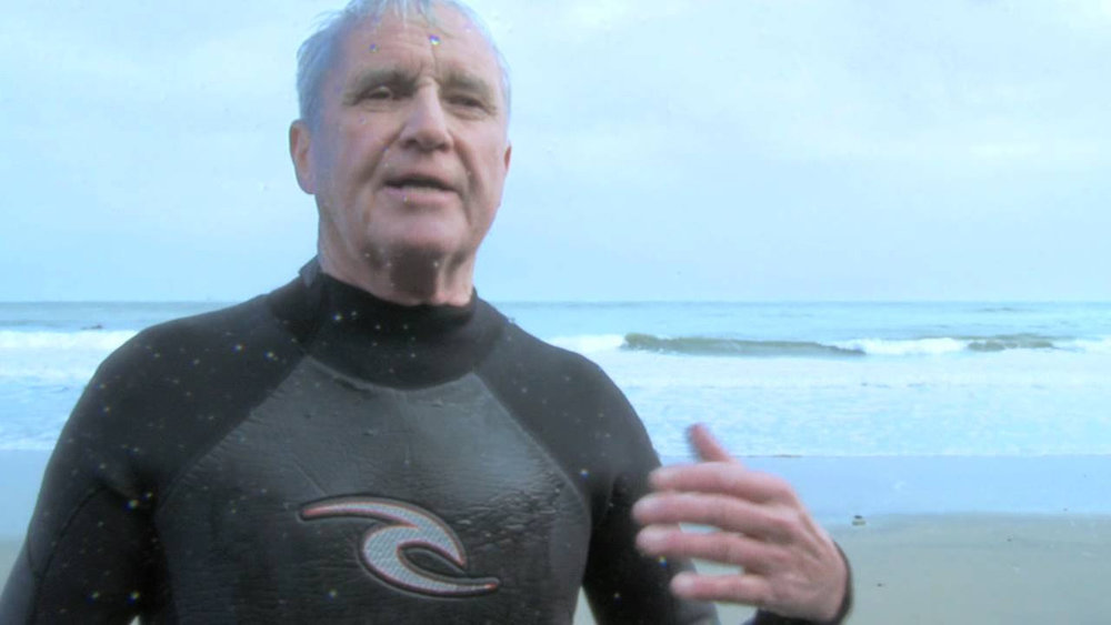 Kevin Cavey / Irish Surfing Legend One of the first surfers in Ireland, Kevin Cavey tells his stories of surfing in the days before wetsuits or forecasts.
