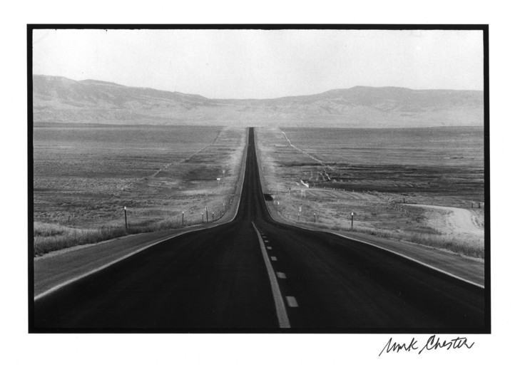 Wyoming Road Copyright 1970 © Mark Chester