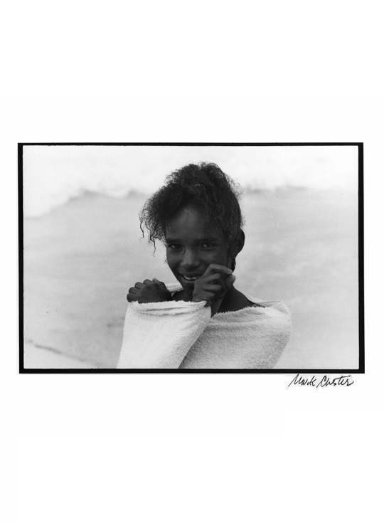 Girl in Towel, Grenada