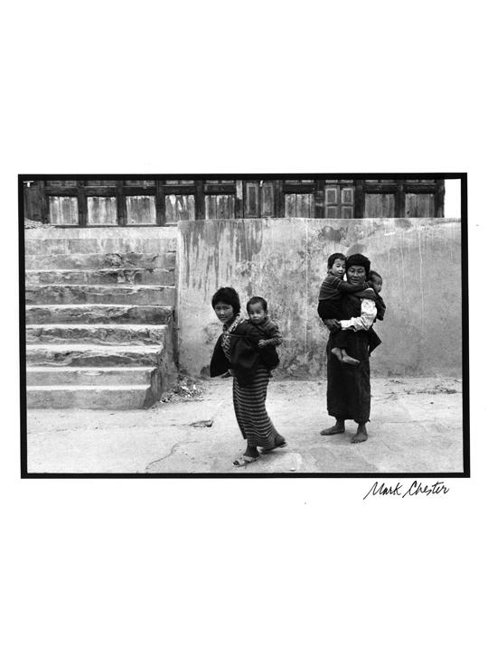 Family in Bhutan