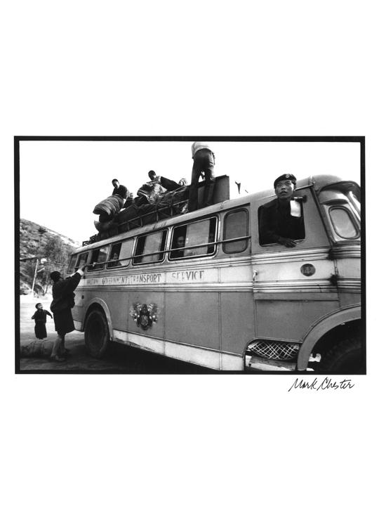 Bus in Bhutan