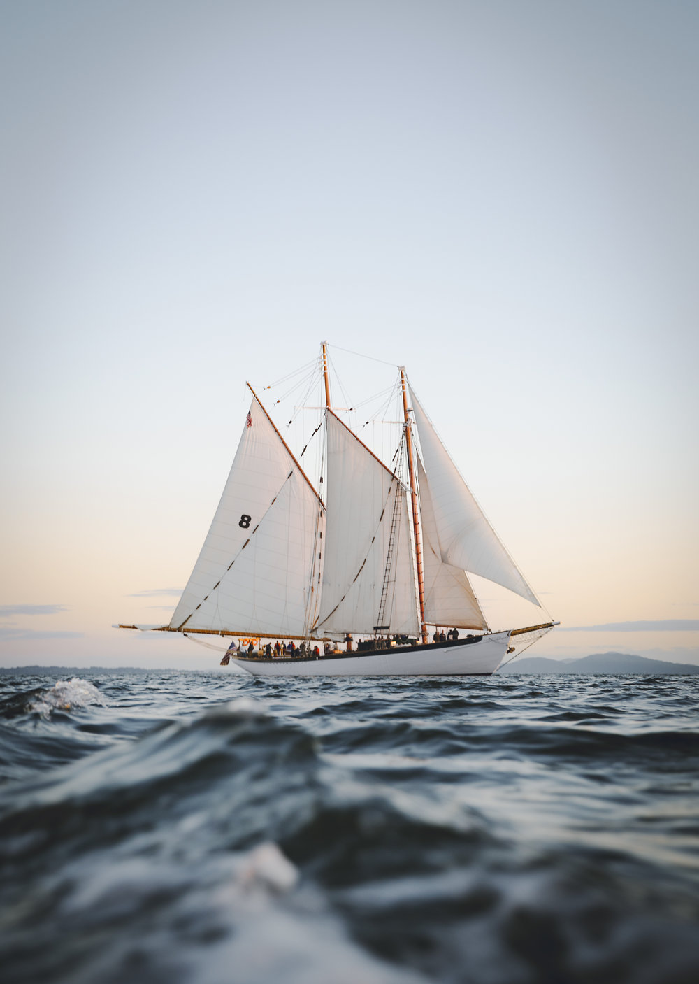 The Schooner Zodiac, Bellingham, Washington