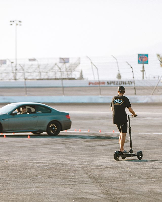 Sometimes we drift. Spent the day filming for @drivingline out at Irwindale Speedway with a talented bunch yesterday. Video coming soon.