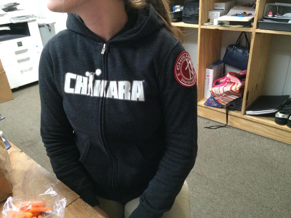 CHIKARA ZIP-UP HOODIE (WOMEN)