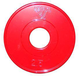 2.5 kg Competition Metal Disc