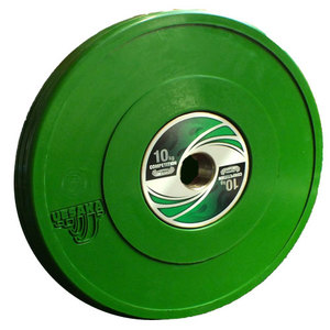 10 kg Competition Bumper Plate