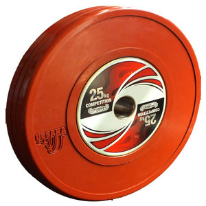 25 kg Competition Bumper Plate