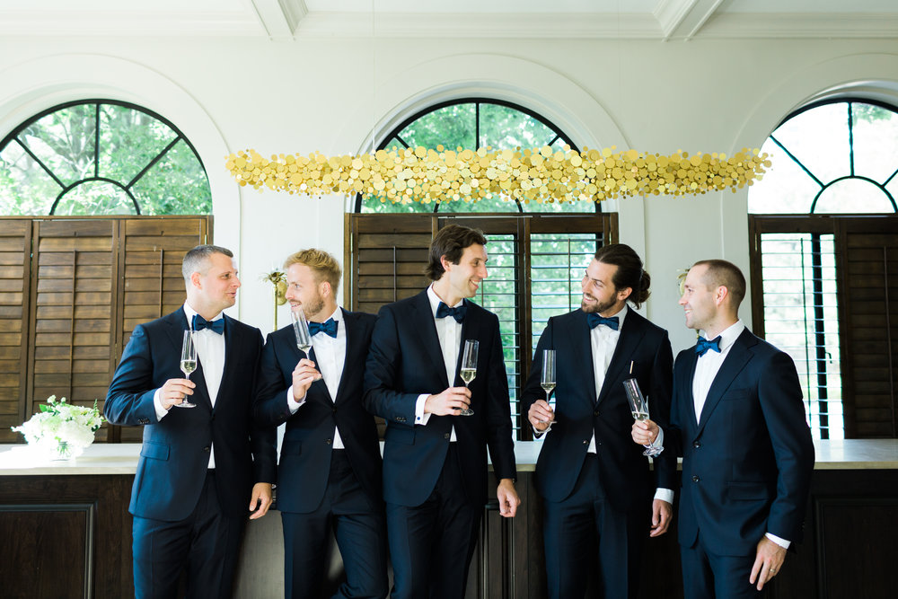 Toronto Fine Art Photographer - Graydon Hall Wedding - Groomsmen Getting Ready-29.jpg