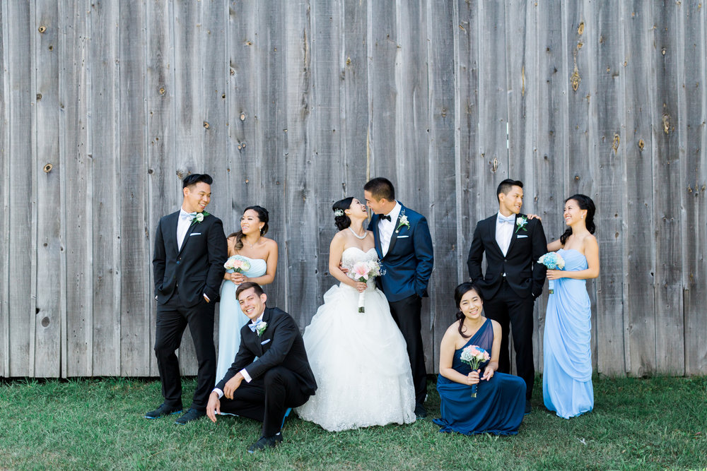 Toronto Fine Art Photographer - Markham Museum Wedding - Bridal Party Portraits-17.jpg