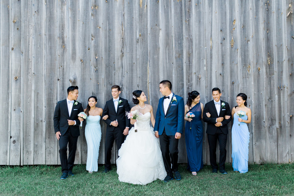 Toronto Fine Art Photographer - Markham Museum Wedding - Bridal Party Portraits-21.jpg