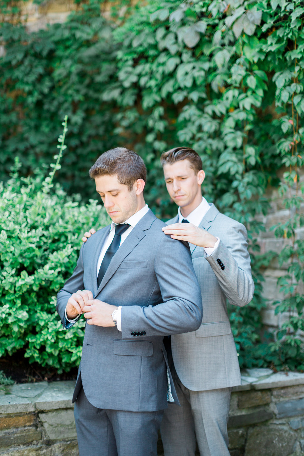 Toronto Fine Art Photographer - Old Mill Wedding - Groom Getting Ready-48.jpg