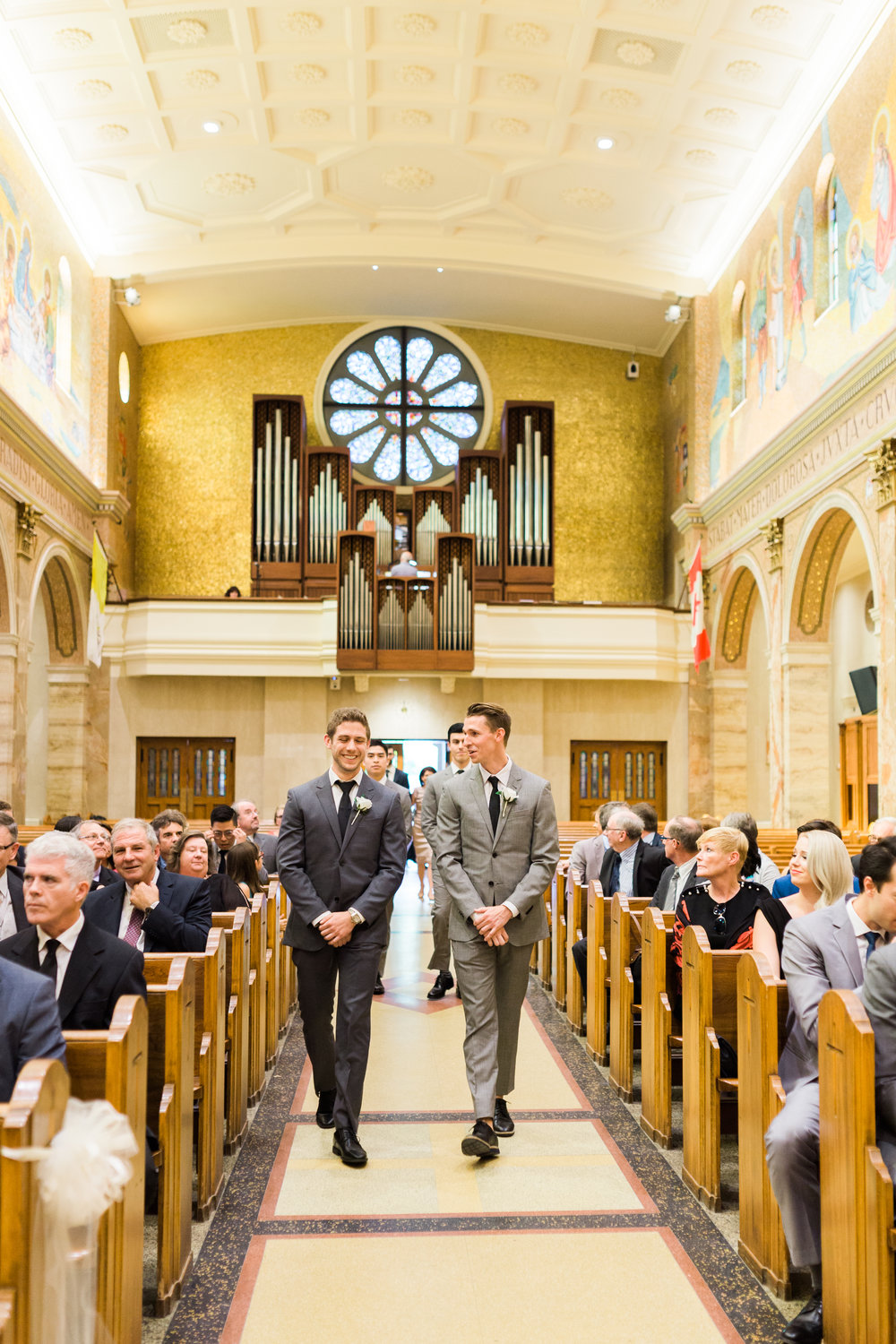 Toronto Fine Art Photographer - Lady of Sorrows Catholic Church Wedding - Ceremony-23.jpg