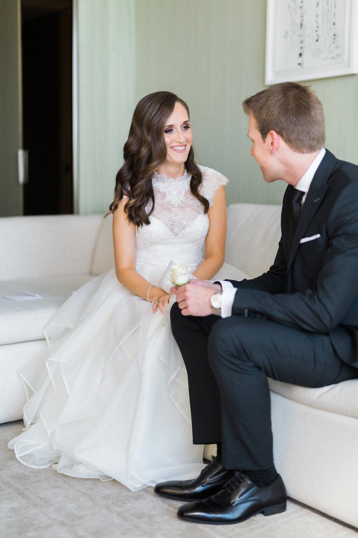 Toronto Fine Art Photographer - Four Seasons Yorkville Wedding - First Look-11.jpg