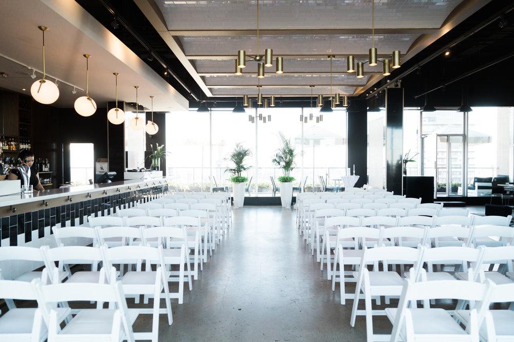 Toronto Fine Art Photographer - 180 Restaurant Wedding - Ceremony-2.jpg