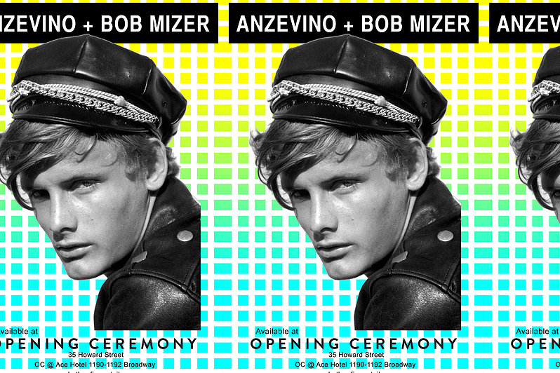 Anzevino + Bob Mizer