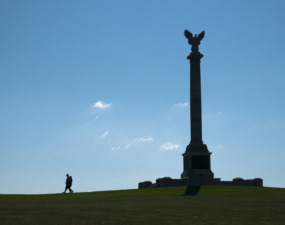 New York monument Antietam National Battlefield