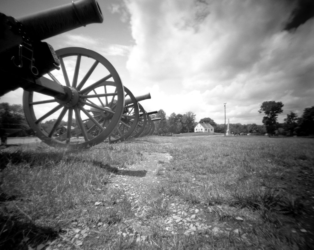 Dunker Church Antietam National Battlefield Pinhole camera