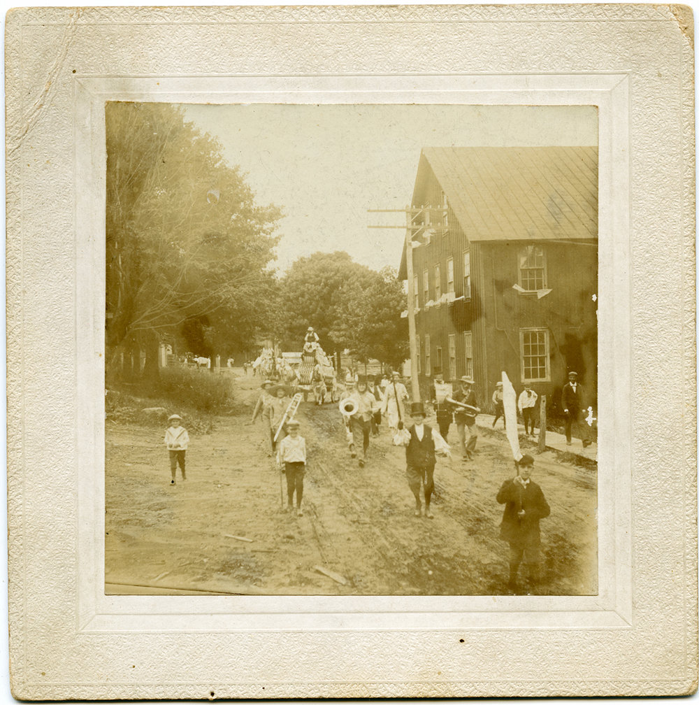 """July 4th, 1907 Buckfield Band."""