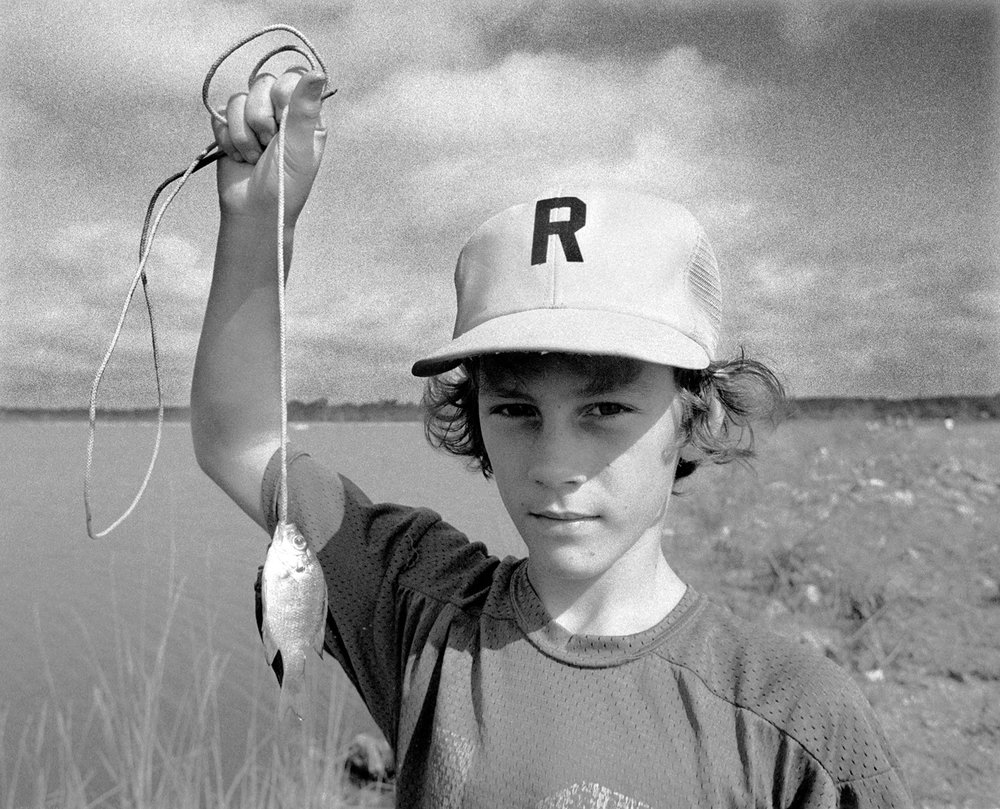 The Big Catch Ross Barnett Reservioir, MS 1977