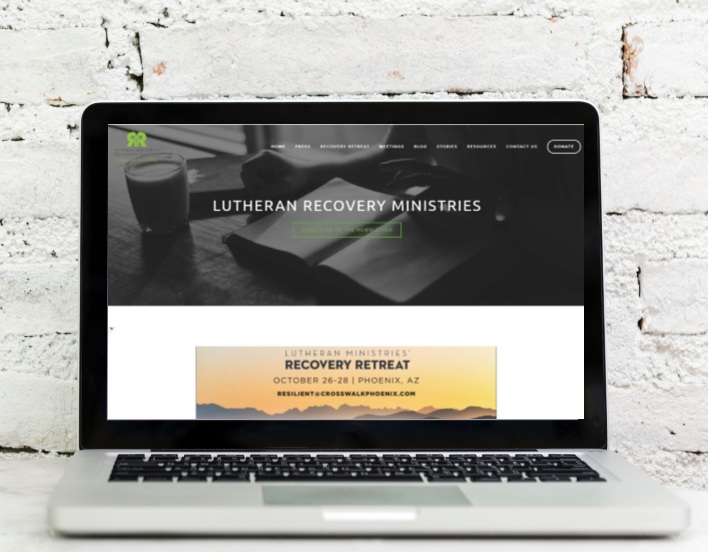 Lutheran Recovery Ministries    Website Design