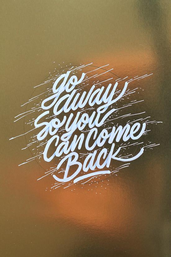 Go Away So You Can Come Back print. Image via itsaliving on Society6.