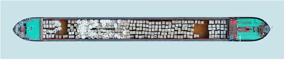 Schiff Nr. 12, 2004. Lamda C-Print.