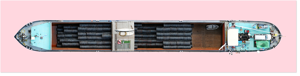 Schiff Nr. 4, 2003. Lamda C-Print.