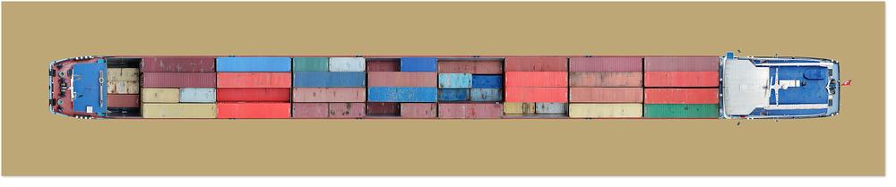 Schiff Nr. 17, 2005. Lamda C-Print.