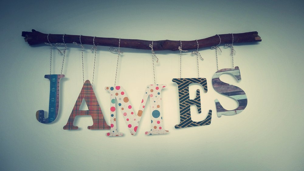 diy personalized baby name banner for nursery the traveling wardrobe