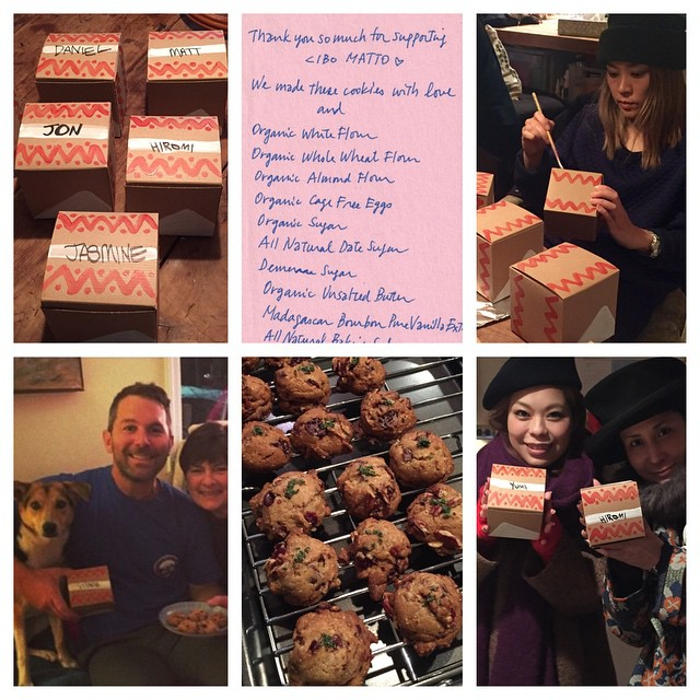 Thank you so much to everyone for helping us celebrate the anniversary of #hotelvalentine. We surprised the winners with homemade cookies baked by Yuka and boxes designed by Miho. We hope you loved them. Until next year...x Cibo Matto #stayclean2015