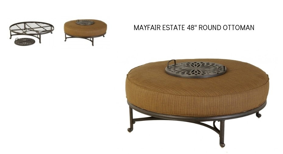 Mayfair Estate Deep Seating 48 in Round Estate Ottoman.jpg