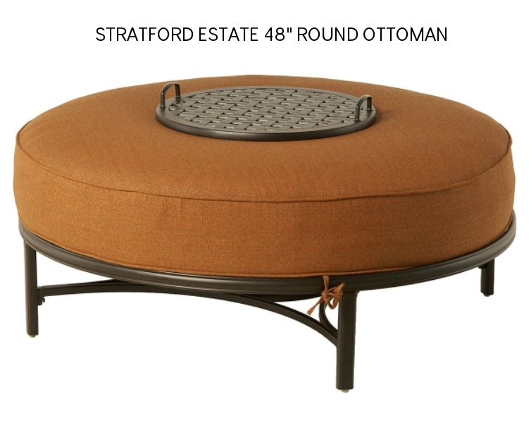 Hanamint Stratford Deep Seating Estate 48 in Round Ottoman.jpg
