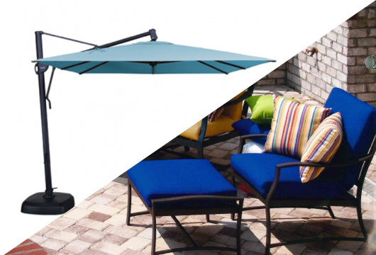 UMBRELLAS AND REPLACEMENT CUSHIONS