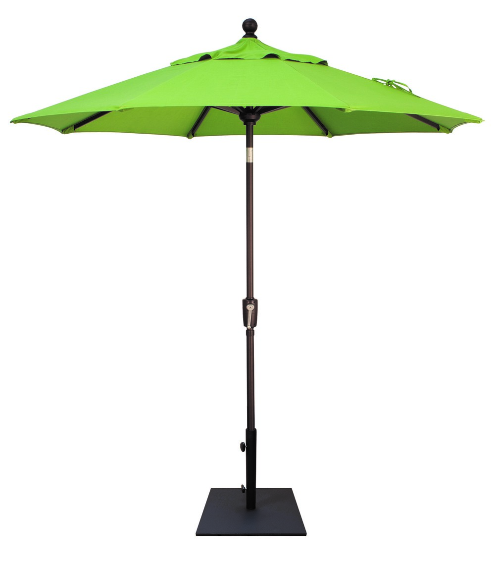 PUSH BUTTON TILT 7.5' MARKET UMBRELLA