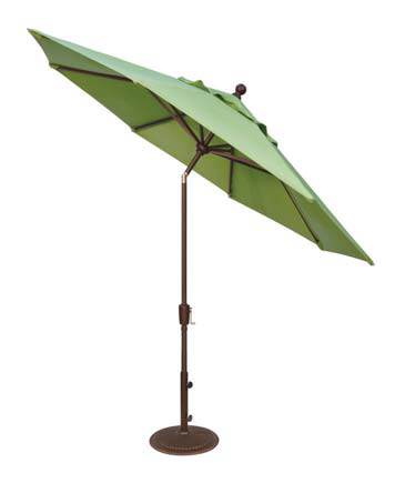 PUSH BUTTON TILT 9' MARKET UMBRELLA