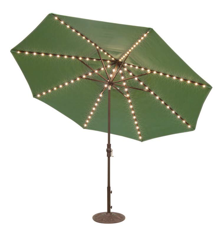 STARLIGHT TILT 9' MARKET UMBRELLA